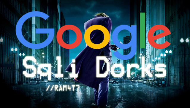 Google Dork List 2017 - TRICKS UPDATER