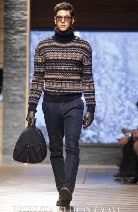 a707e6ca INDEPENDENT MEN: EVENT: ERMENEGILDO ZEGNA FASHION SHOW FALL/WINTER 12-13