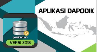 update dapodik versi 2018
