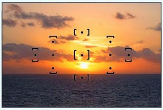 11 titik bantu yang dapat membantu kalian dalam mengarahkan titik fokus ke objek bidik