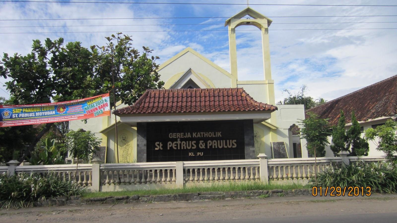 Paroki St. Petrus dan Paulus Klepu