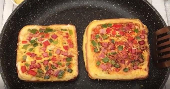 Una delicia que tienes que probar: esponjoso omelette de panecillos