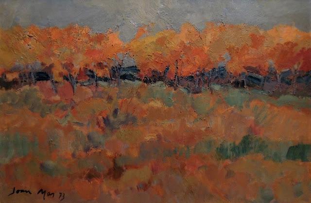 Joan Más arte paisaje pintura al óleo