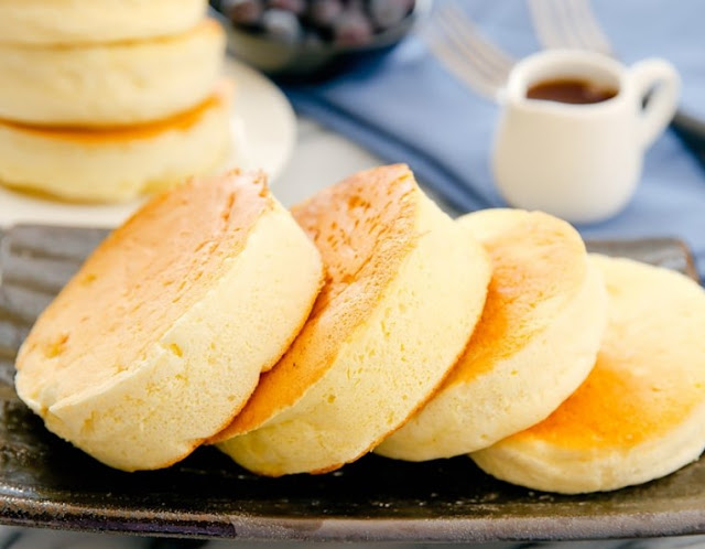 Japanese Souffle Pancakes #popular #desserts