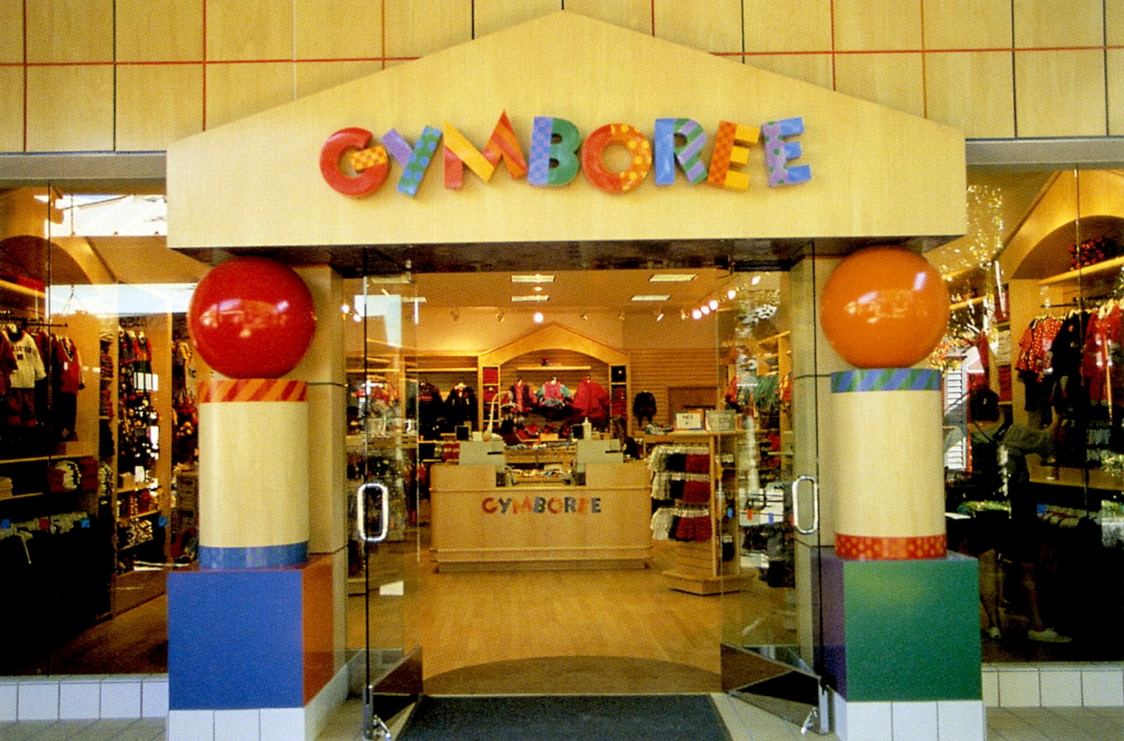 Gymboree clothing store