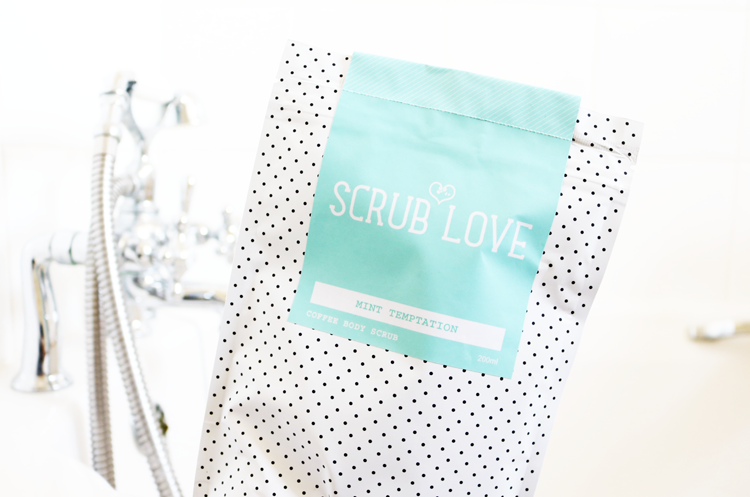 Scrub Love Coffee Body Scrub in Mint Temptation review