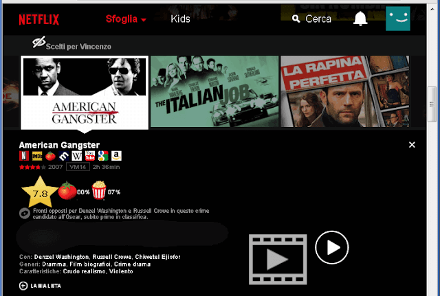 Flix Plus estensione Chrome per Netflix
