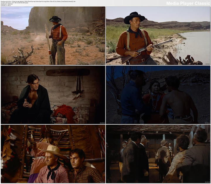 Centauros del desierto | 1956 | The Searchers, Capturas