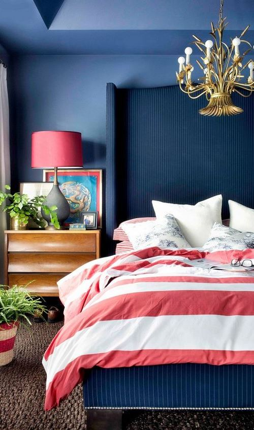 blue bedroom decor inspiration