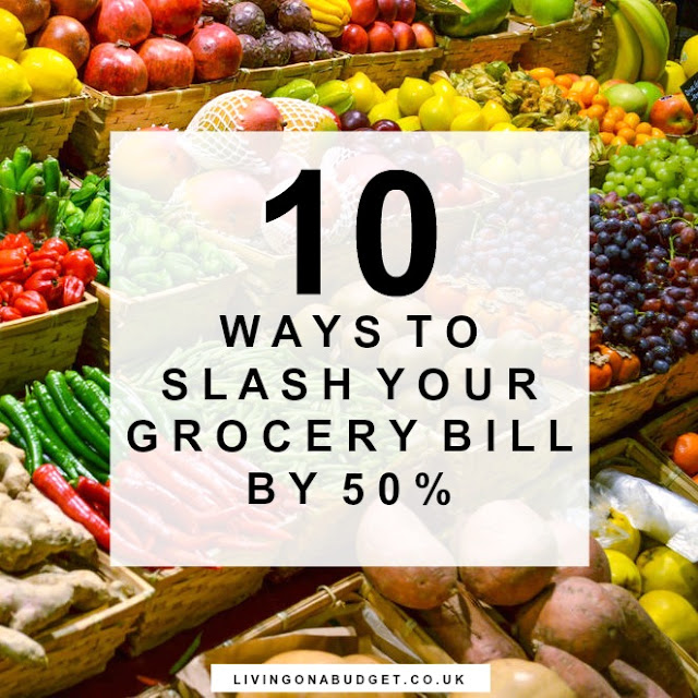 10 Ways To Slash Your Grocery Bill by 50%