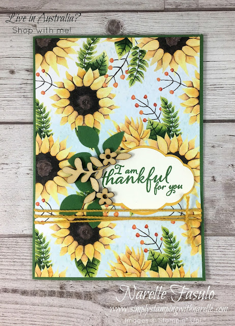 If you love sunflowers, then you are going to love this product suite - https://goo.gl/2APhq2 - Simply Stamping with Narelle