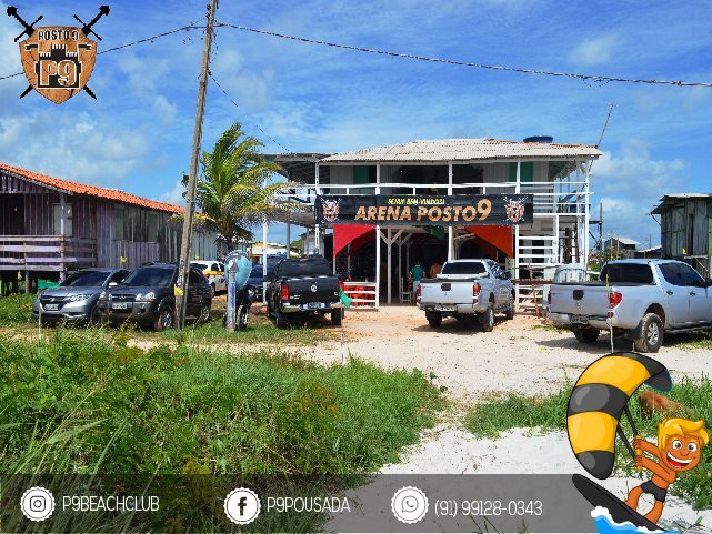 P9 BEACH CLUB: O novo point de Kitesurf do Pará