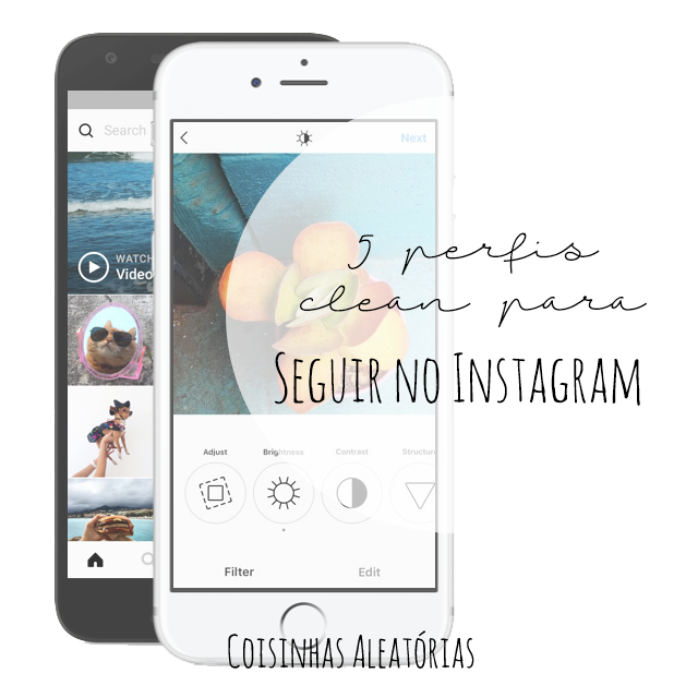 instagram clean inspiração