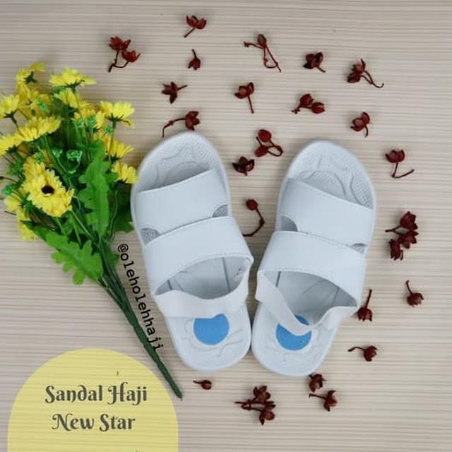 Sandal Haji New Star, oleh oleh haji, perlengkapan haji dan umroh.