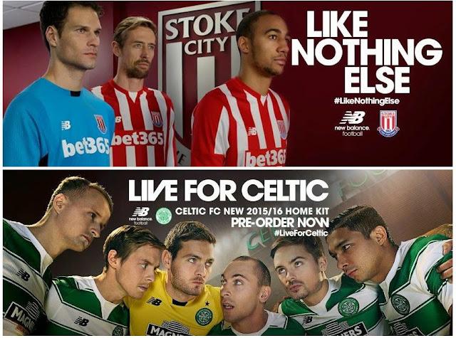 New Balance golpea fuerte con el Celtic y el Stoke