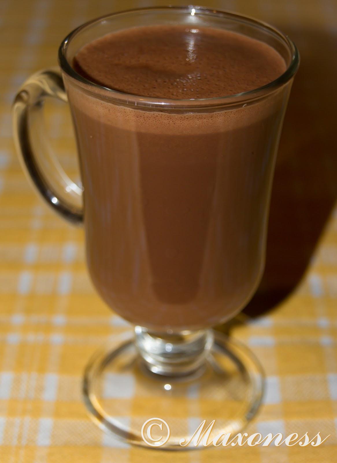 Горячий шоколад с чаем Эрл-Грей