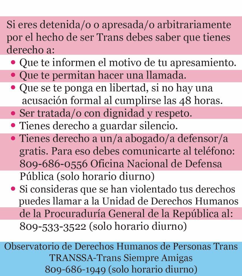 TRANSSA-Trans Siempre Amigas /Blog OFICIAL: Transfobia de una trans hacia  su comunidad.