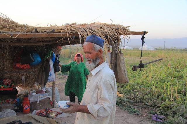 Tadjikistan, Yavan, coton, paysans, © L. Gigout, 2012