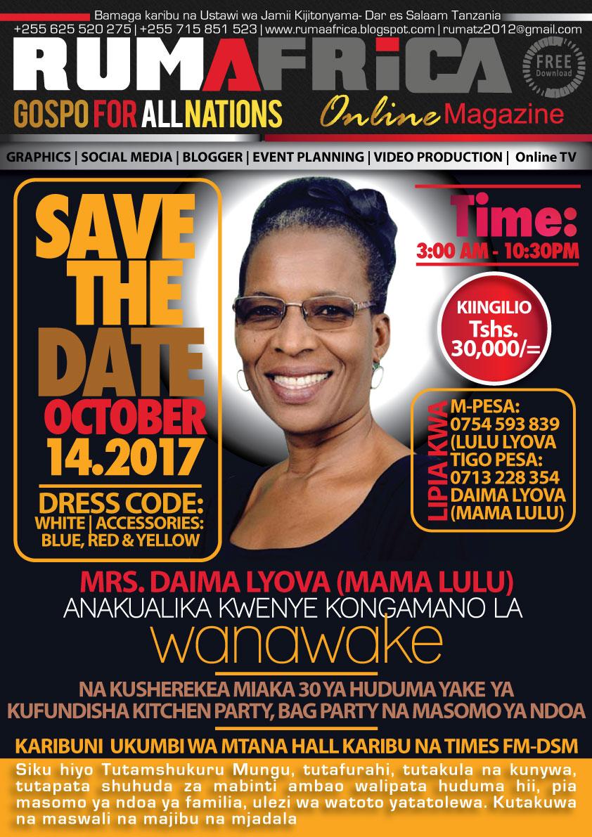 Rumafrica magazine mama lulu kufanya maajabu katika Internet magasin