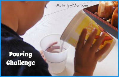 pouring challenge