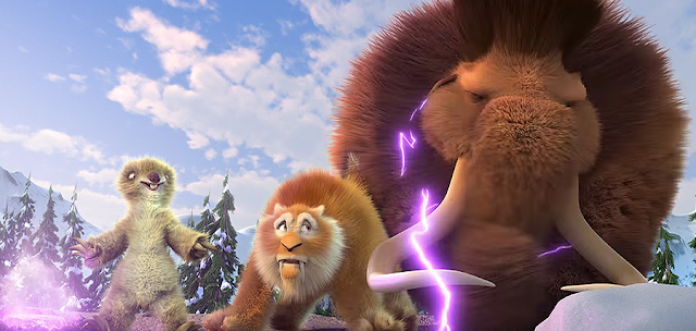 ICE AGE 5 COLLISION COURSE: Sid, Diego si Manny