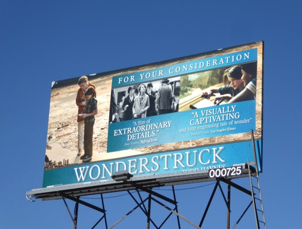 Wonderstruck movie billboard
