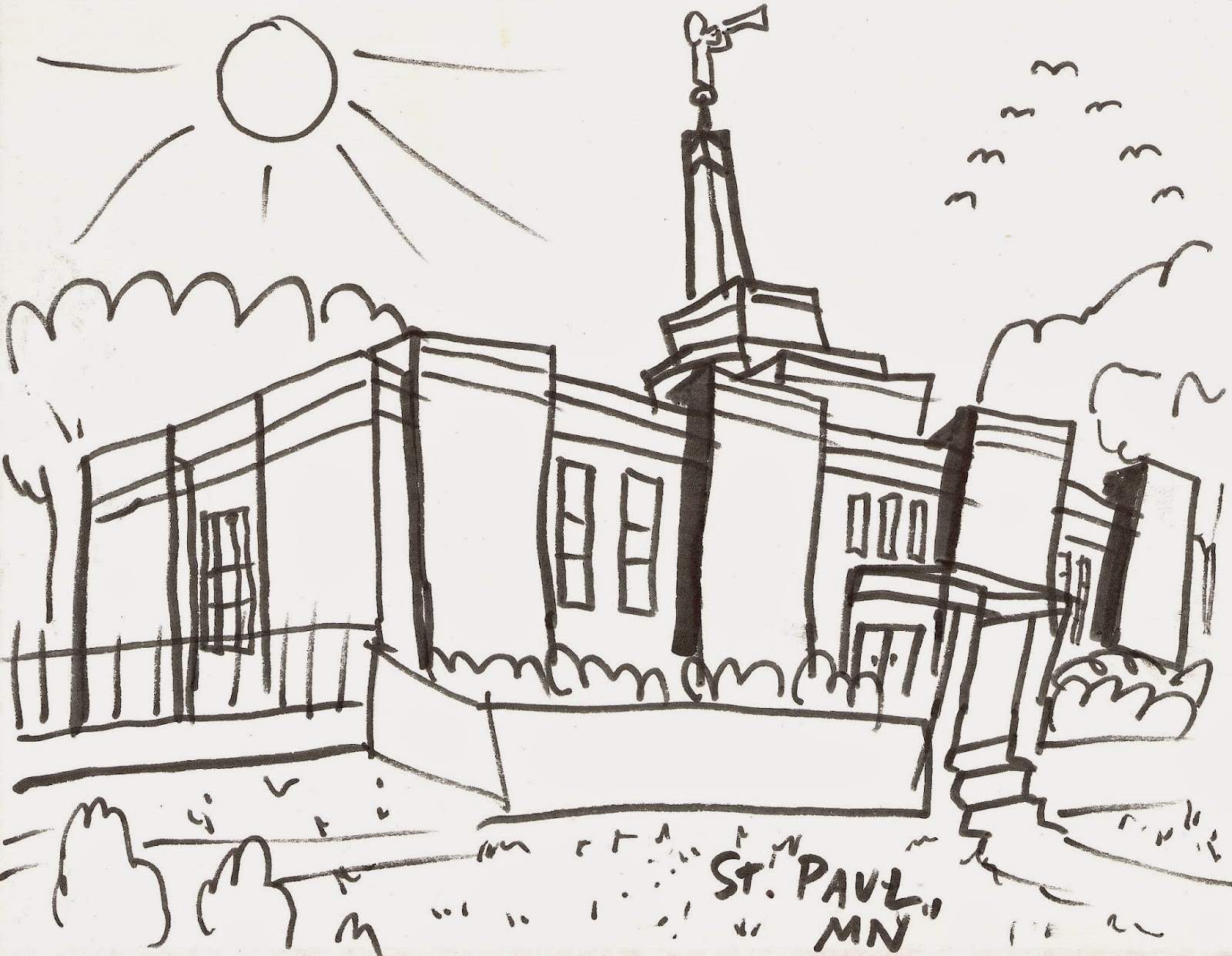 Things to do in plymouth minnesota usa st paul temple coloring page