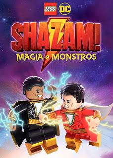 LEGO DC: Shazam! - Magia e Monstros - HDRip Dual Áudio