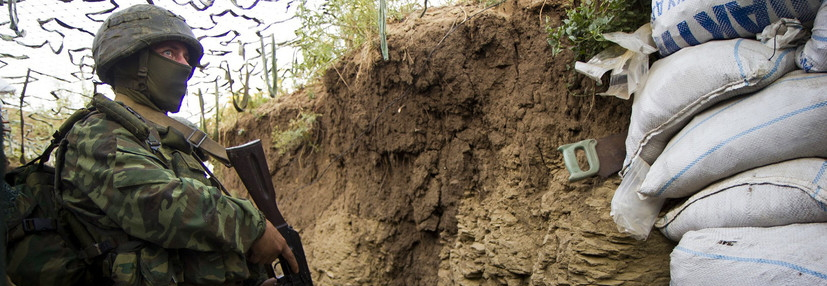 nvaders in Donbas build new dugout shelters, place anti-tank mines