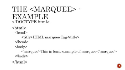 List of Synonyms and Antonyms of the Word: html marquee