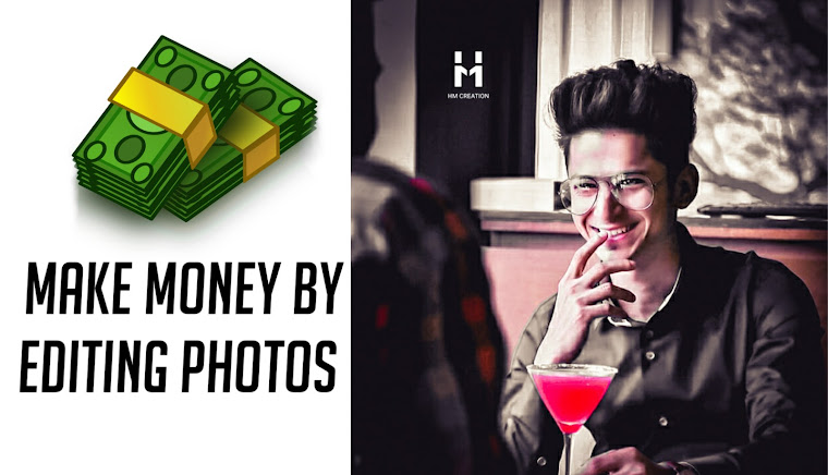 Earn money online | earn money by editing photos