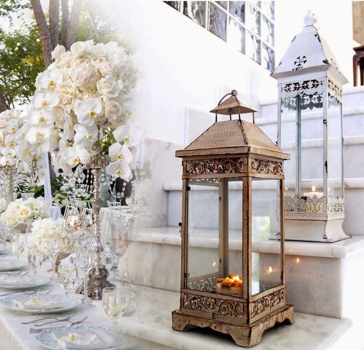 Decoraconmar a esos peque os detalles farolillos y rama for Farolillos para velas