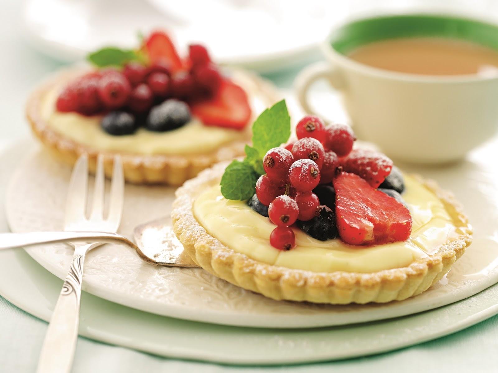 Summer Berry Tartlets..