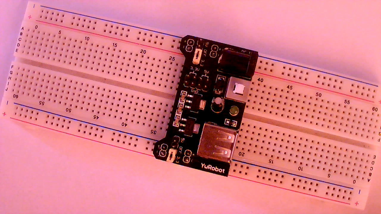 Adjustable Output Voltage Regulator Using 7805 Funny Electronics Increase The Current Ic Lm7805 Bought One New Breadboard Power Su