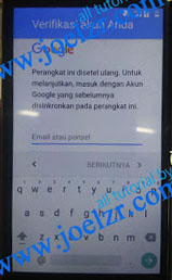 Buka Akun google Advan S4Z tested