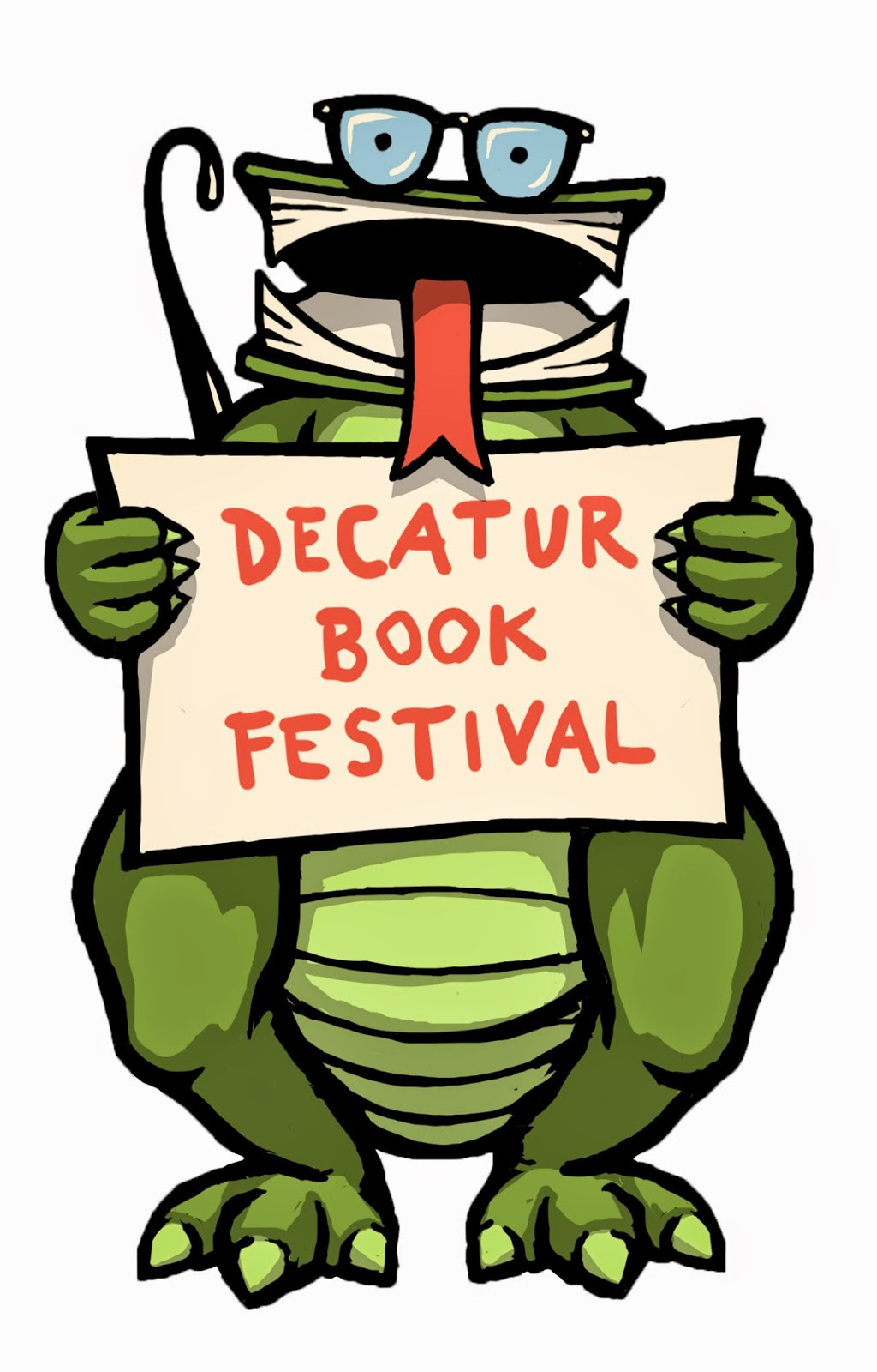 Decatur Book Festival bookzilla everead