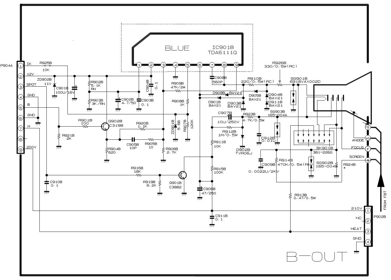RPTV LG RE39NZ43 LG RL39NZ43 Convergence R G B
