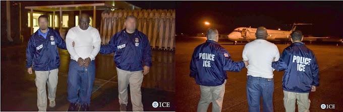 Detienen y deportan ex agente de la PN  que huyó a NY después de sentencia en RD por asesinato de civil