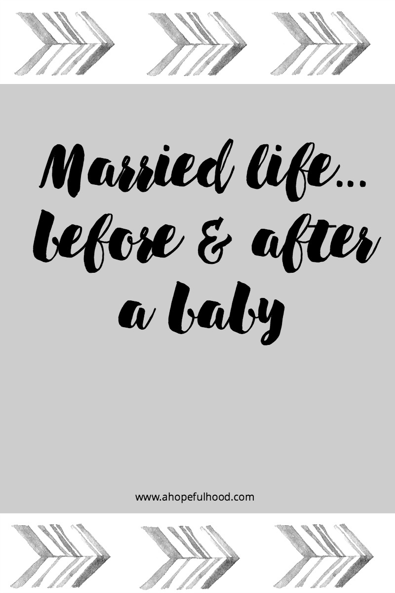 What changed in my marriage after having a baby...hint: things are even more fun!