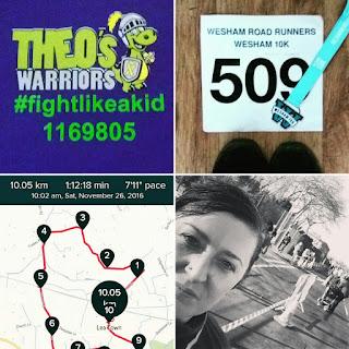 Finding My Stride - four photos to describe my run