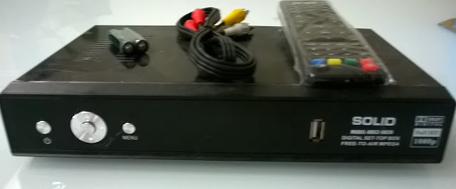 SOLID HDS2-6024 MPEG-4 / DVB-S2 FTA Satelllite Receiver
