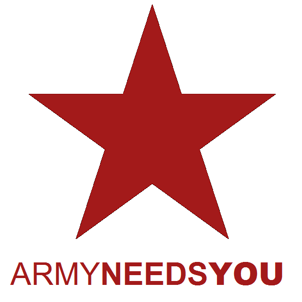 REGISTER NOW - ARMY NEEDS YOU