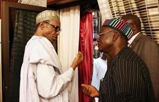 Governor Ortom And Buhari