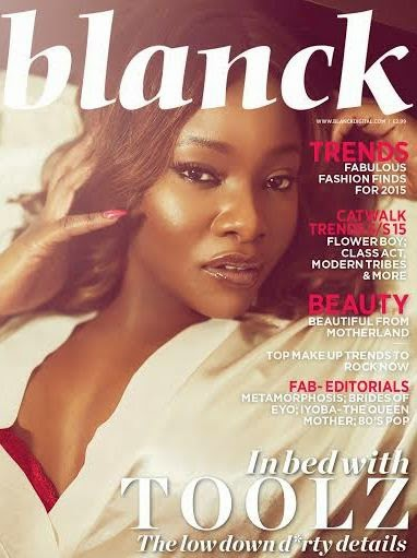 Global fashion and culture magazine, Blanck features Tiwa Savage, Banky W, Toolz, Zainab Balogun and more