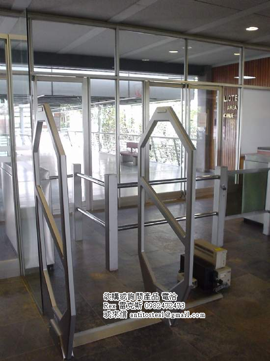 圖書防盜感應門,em library security gates