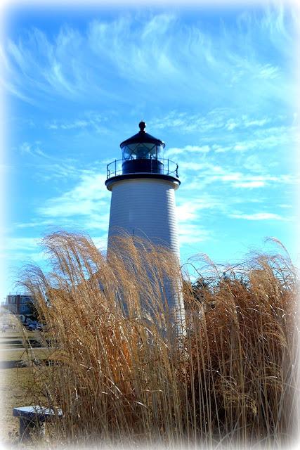 Plum Island, Lighthouse, Newburyport, Massachusetts, hair, phragmites, cirrus