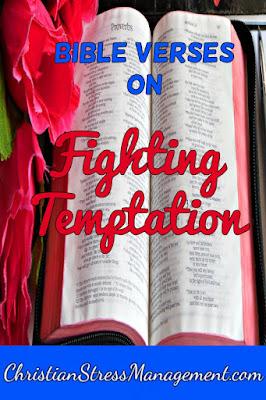 Bible verses on fighting temptation