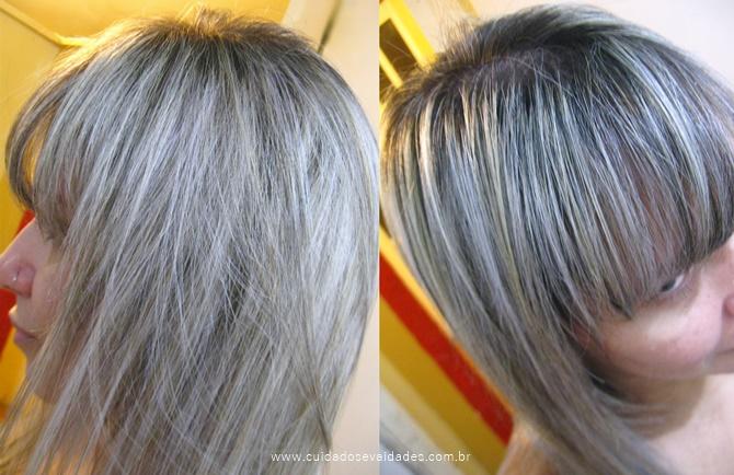 Passo a passo como deixar o cabelo loiro acinzentado em casa