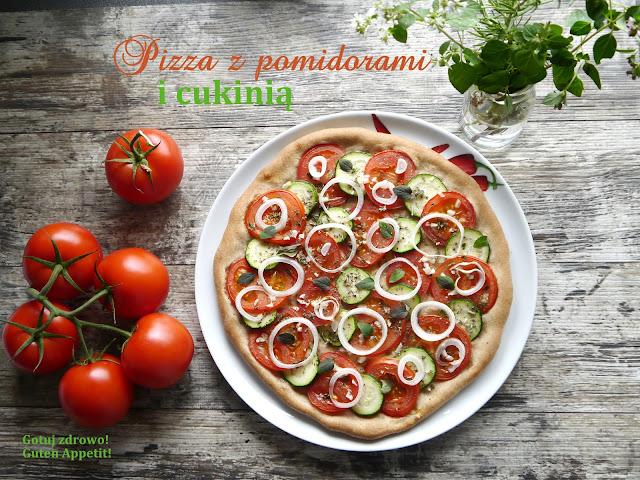 Pizza z pomidorami i cukinią - Czytaj więcej »