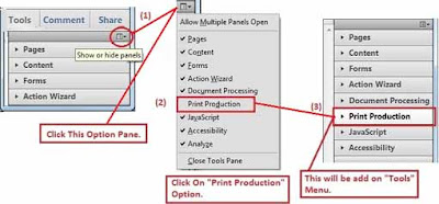 Add Print Production for find resolution of PDF